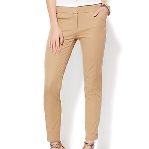 LOFT OUTLET CURVY SKINNY ANKLE PANTS SZ 8